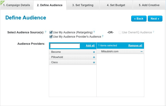 Define Audience